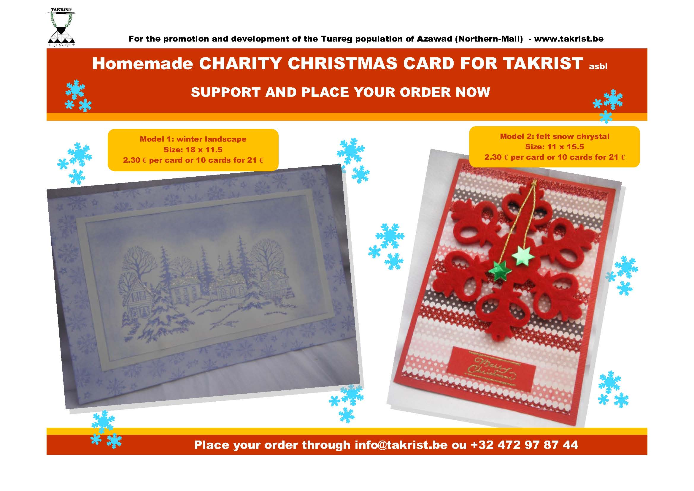 Newsletter: Christmas Card Action - Christmas Markets